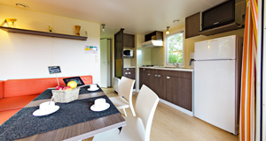 full equiped kitchen mobile home