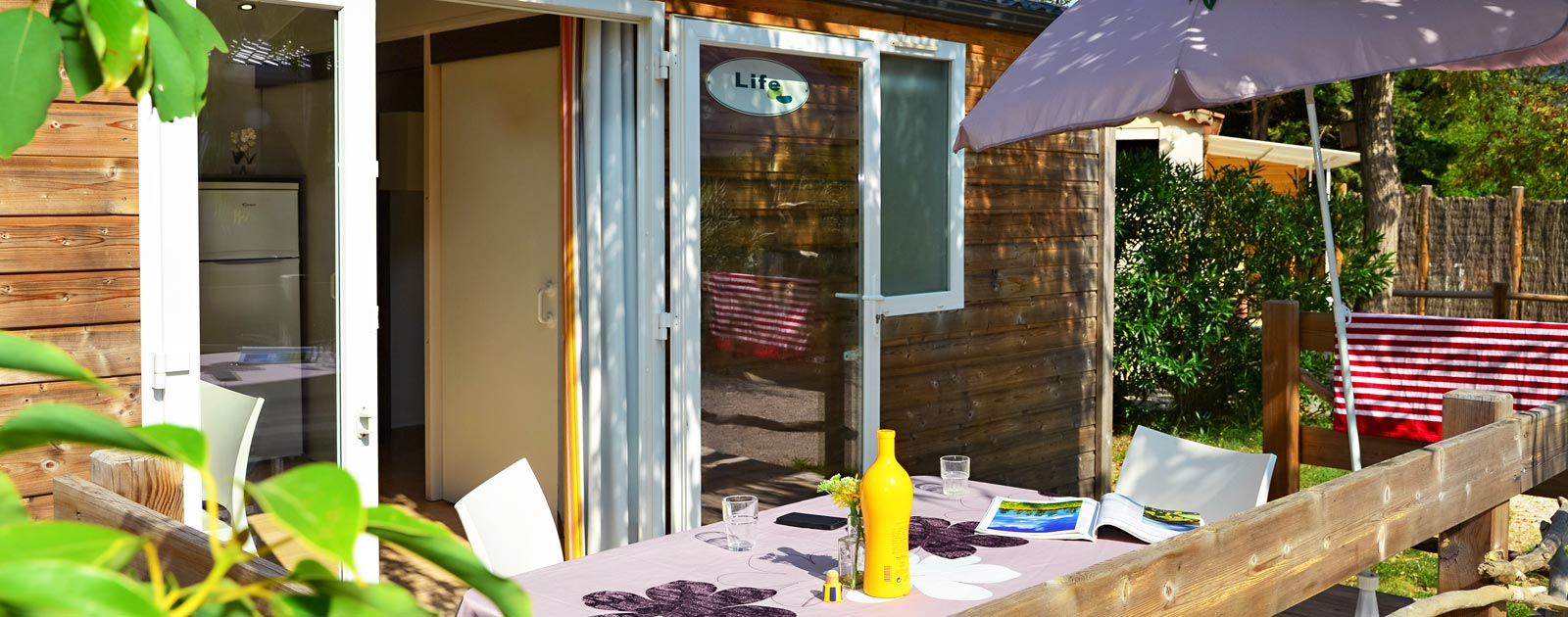 chalet terrasse for holidays