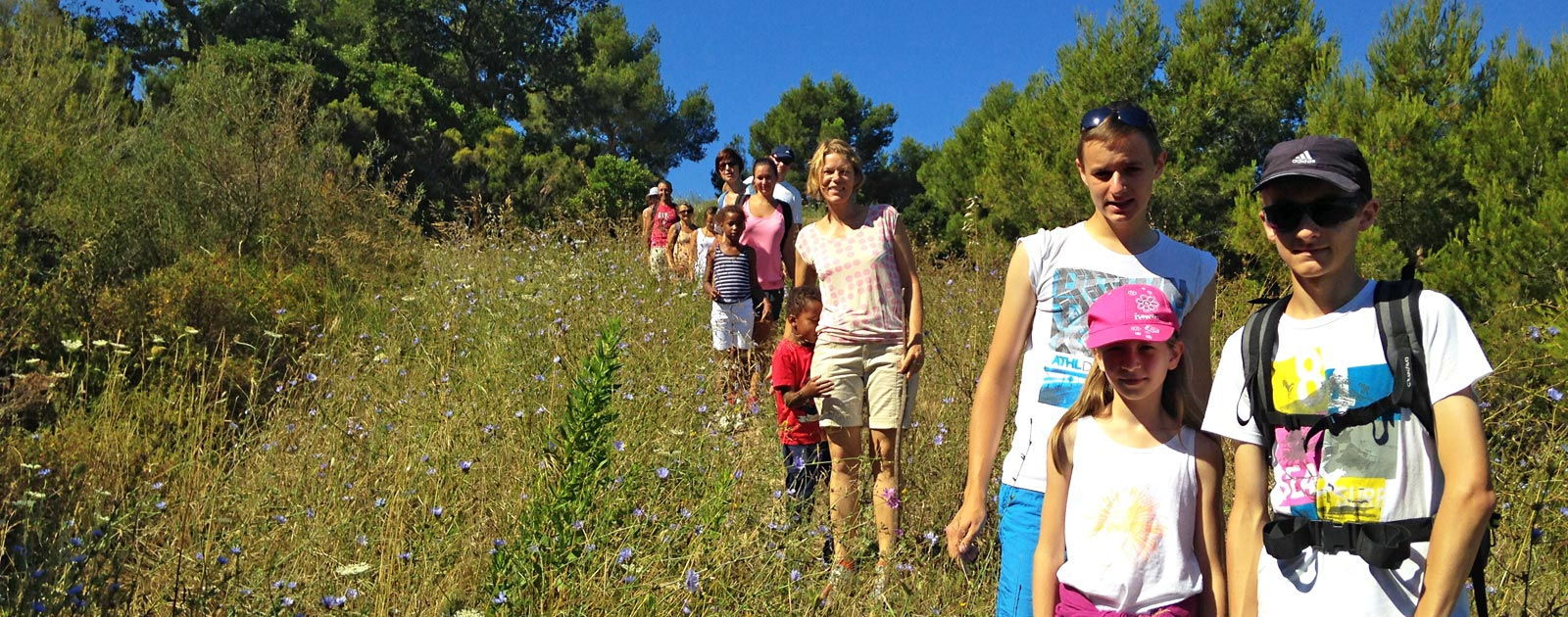 hiking in provence